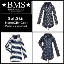 Kurzmantel HafenCity Coat - SoftSkin